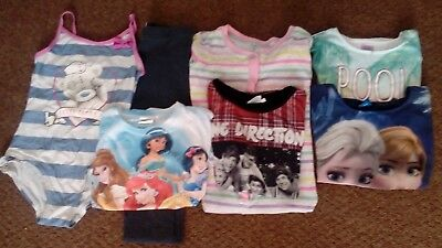 jOB LOT GIRLS CLOTHING AGE 8-9 YEARS