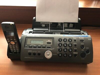 Panasonic CK-FC225E Compact Plain Paper Fax with DECT & 2 x NEW Ink Films