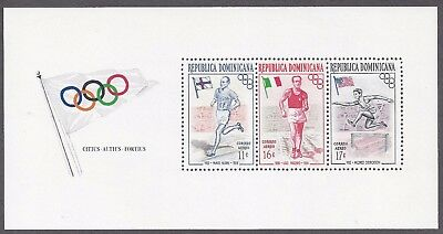 OLYMPICS: DOMINION REP, Souvenir Sheet C97-C99, 1956 Melbourne Olympic A/M issue