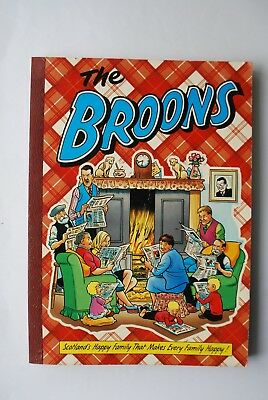 The Broons Book Scotland Happy Family Book 1993