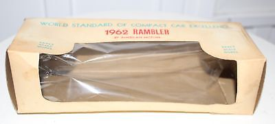Empty Box for a Toy 1962 Rambler World Standard of Compact Car Excellence