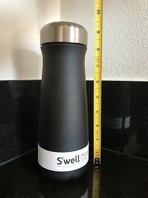 NEW Starbucks Swell Traveler Insulated Stainless Steel Thermos BLACK Onyx 20 OZ