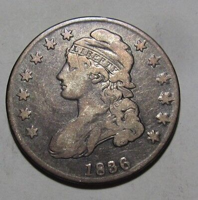 1836 Capped Bust Half Dollar -  Very Fine Condition - 149SA