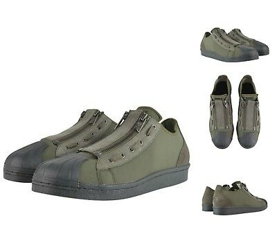 f556d903226c4 Authentic Yohji Yamamoto Y-3 Olive Super Zip Trainers Sneakers Shoes. Uk 7 (