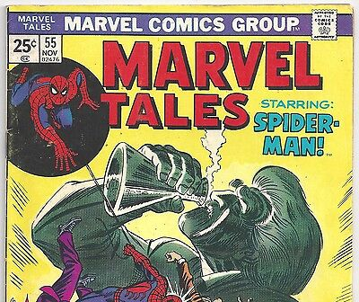 The Amazing Spider-Man #74 Reprint in Marvel Tales #55 from Nov.1974 in G/VG