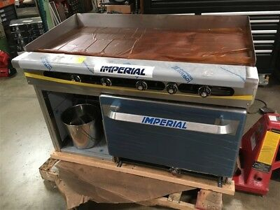 """New Imperial 48"""" Commercial Griddle Oven (Scratch and Dent) Natural Gas"""