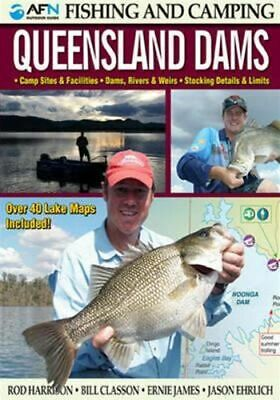 NEW AFN Fishing & Camping Queensland Dams Revised By Rod Harrison Free Shipping