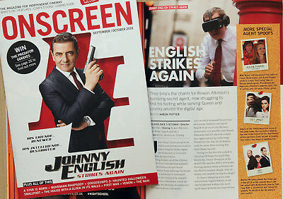 Johnny English Strikes Again Cinema Film Magazine  Rowan Atkinson
