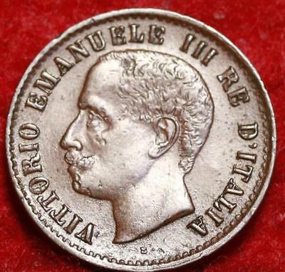 1905 Italy 1 Centesimo Foreign Coin