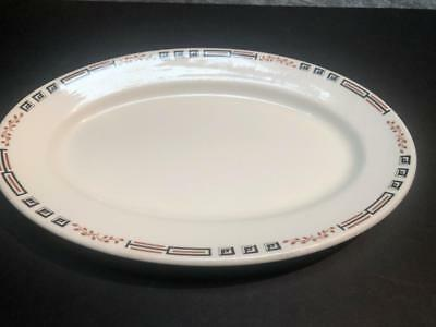 """Vintage STERLING Vitrified China East Liverpool Ohio Platter - 13 1/2"""""""