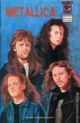 Metallica (Celebrity Comics) #2B 1992 VF Stock Image