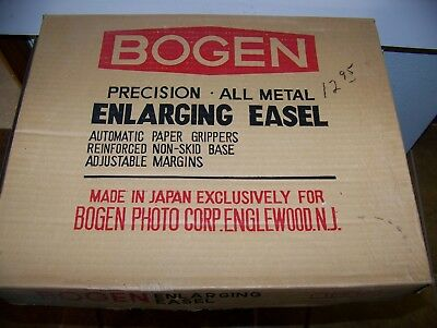 Bogen Enlarging Easel And Developing Trays
