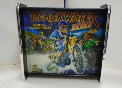 Bally Blackwater 100 Pinball Head LED Display light box