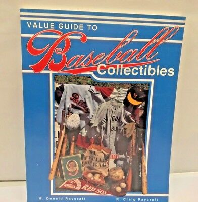Price VALUE Guide Vintage BASEBALL Card Ball Autograph pins Collectible BOOK