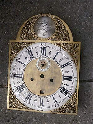 12x16 1/2 inch  LONGCASE GRANDFATHER CLOCK brass dial John Lee of Cookham,