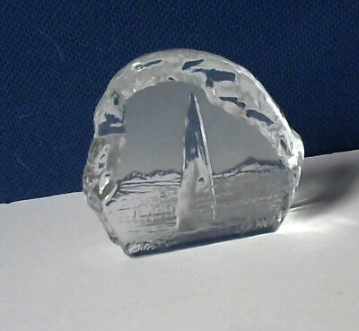 Unusual Double Sided Glass?? Paperweight:Geneve