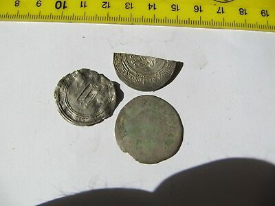 3x Medieval Silver Coins !!!