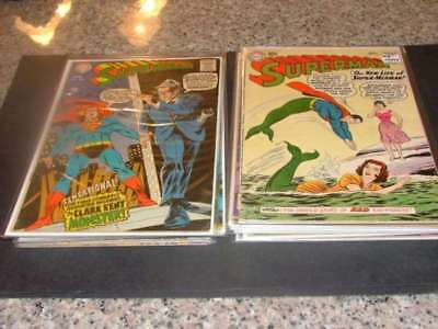 15 Issues Superman #s 139-386 Silver/Bronze Age DC Comics                ID:8246
