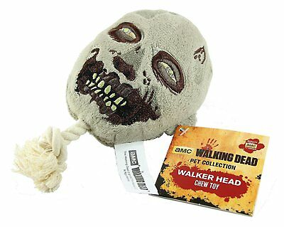 THE WALKING DEAD Walker Head Chew Toy (Hundespielzeug) Pet Collection