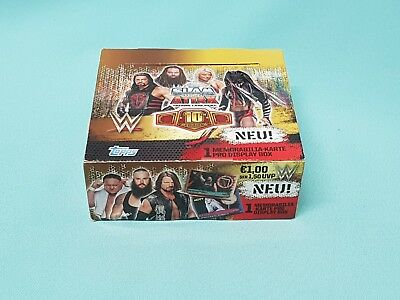 Topps WWE Slam Attax 10th Edition 1 x Display / 36 Booster