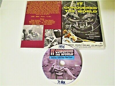 It Conquered The World (Dvd,1956) Peter Graves, Beverly Garland, Lee Van Cleef