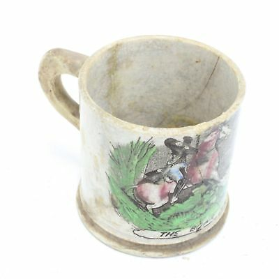 Ceramic The Boar Hunt Small Mug Cup #417