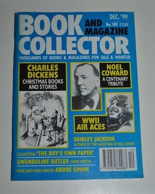 Book Collector # 189 Dec 1999 - Charles Dickens, Noel Coward, WWII Air Aces