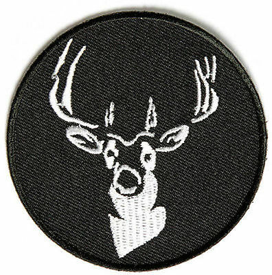 Rond Cerf Chasse de Chasse NRA Brodé Buck Mc Club Motard Gilet Patch PAT-2689