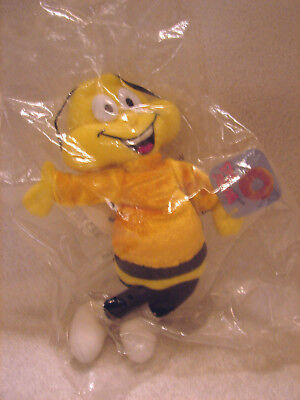 1998 Honey Nut Cheerios Bee General Mills Breakfast Pals Plush NEW W/tags
