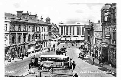 pt4383 - Barnsley , Peel Square , Yorkshire - photograph 6x4