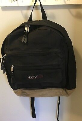 Official JEEP Backpack / Gear Bag Mint Condition