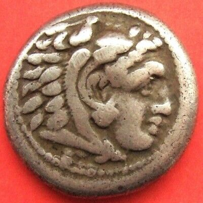 "Kings of Macedon; Alexander III ""the Great"" 336-323 BC. AR Drachm;"