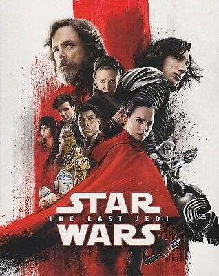 Star Wars: The Last Jedi (Blu-ray/DVD, 2018, 4-Disc, Target Excl. Gallery Book)