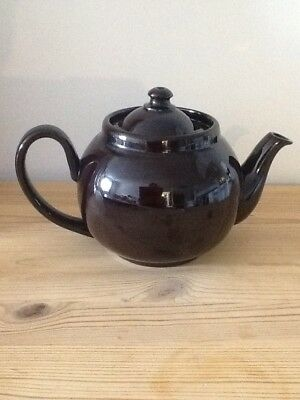 teapot 3 cup traditional Brown Betty Ceramic three cup tea pot