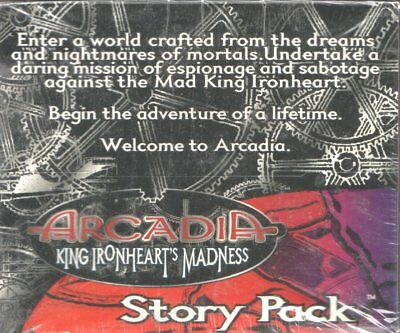 Arcadia Ccg - King Ironheart's Madness Story Pack Display