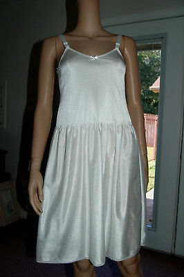 Teen Girls Nylon Slip Copper Key Sz 14