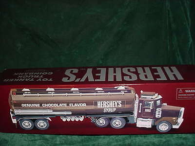 Christmas Day Gift Hershey's Toy Tanker Truck Coinbank Toys Collectible Truck