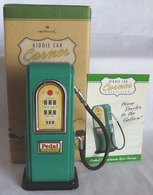 Hallmark Kiddie Car Classics Pedal Petroleum Gas Pump NIB Retired