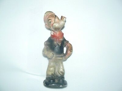 popeye king features syndicate 1929 7'' tall plaster ,very rare