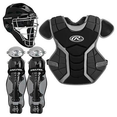 Rawlings Renegade Series Youth Catcher's Set RCSY Black/Silver