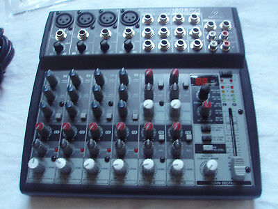 Behringer Xenyx 1202FX Mixer 12-Channel Professionell Live Mischpult