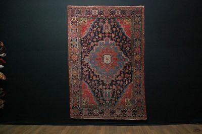 Antiker Teppich Antique rug  sarough   ca:155cm x112cm  tappeto  rug tapis