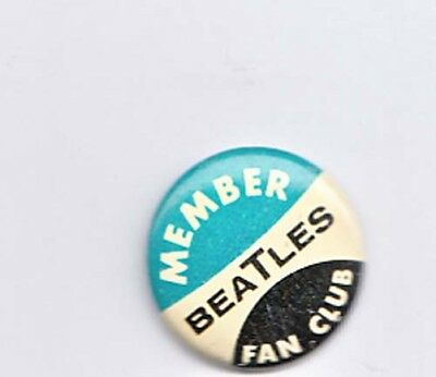 Kleine Button Member Beatles Fan club, alt