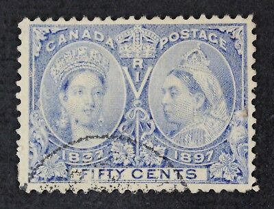 CKStamps: Canada Stamps Collection Scott#60 Jubilee Used Thin CV$190