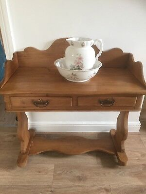Gorgeous Antique - Pine wash stand / dressing table / Desk