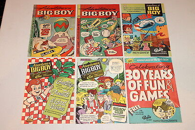 Adventures of the Big Boy #252, 256, 269, 344, 356, 360 GROUP (6) 1978 FN
