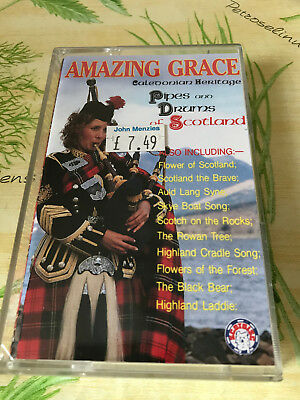 AMAZING GRACE * Pipes and Drums of Scotland * Auld Lang Syne etc.