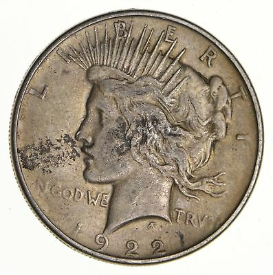 Early - 1922 - Peace Silver Dollar - 90% US Coin *536