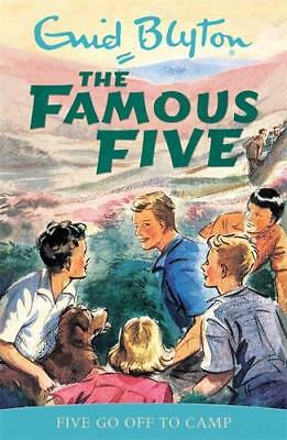Five Go Off to Camp (Famous Five), Enid Blyton, New, Book