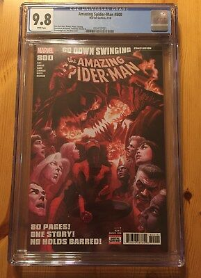 Amazing Spider-Man #800 CGC 9.8 NM/MT, Alex Ross cover, Red Goblin, ASM!